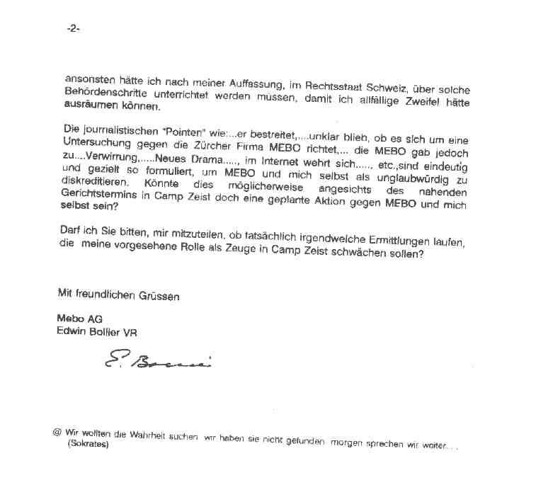 German Letter Format